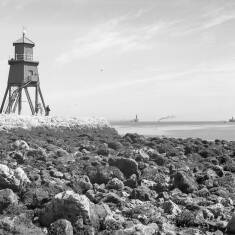 The Groyne From Herd Sands, South Shields