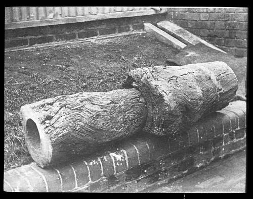 Wooden water mains