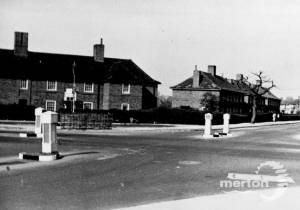 Cannon Hill Lane - junction with Martin Way, Raynes Park