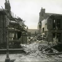 Coleridge Street, bomb damage, Blitz