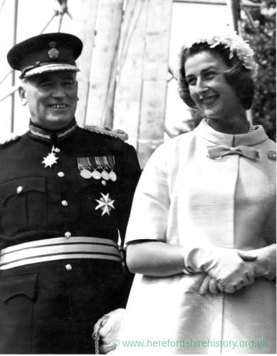 Princess Alexandra with the Lord Lieutenant