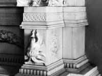 White marble mantel,  Cannizaro House, Wimbledon