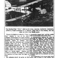 1934, Sir Alan Cobham Flying Circus Lymm visit