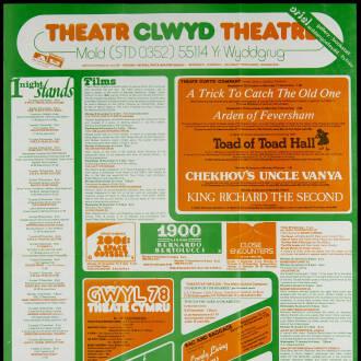 Theatr Clwyd, Mold, November 1978