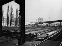 The sidings at Morden Underground Depot