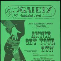Annie Get Your Gun - Ayr Amateur Opera Company