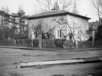 Cottage at corner of  Coombe Road and Durham Road, Raynes Park