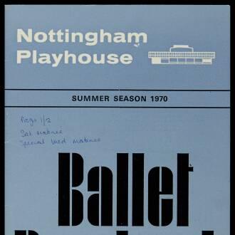 Nottingham Playhouse, June 1970