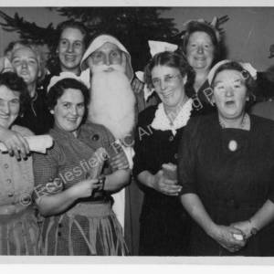 Grenoside Pensioners Christmas Party 1956-7. 2