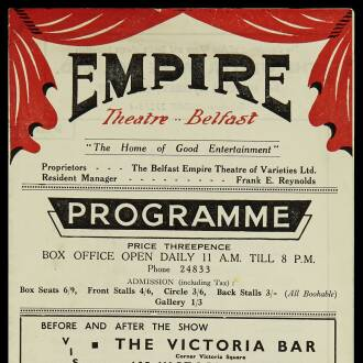 Empire Theatre, Belfast, September–October 1951