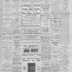 Hereford Journal - 26th September 1914