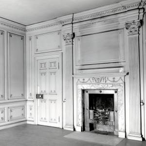 Aramstone House, south east room, 1956