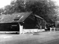 Old Ravensbury barn, later destroyed by fire