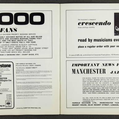 Ella Fitzgerald and Duke Ellington Orchestra – February  1967 010