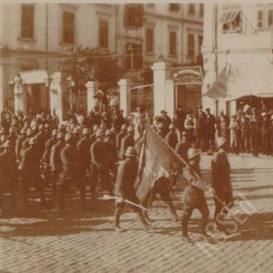Italians Arriving
