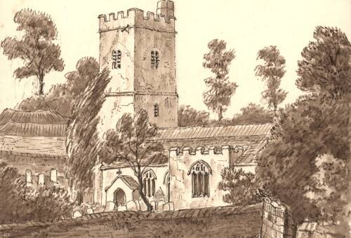 Kingskerswell Church, 25 September 1876, Kingskerswell