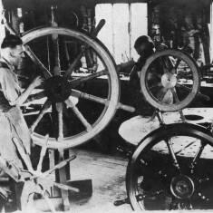 Making Ships Wheels, South Shields Ship Yard