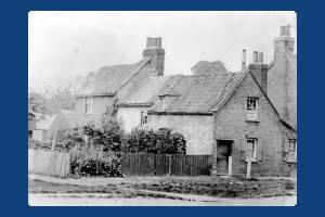 Cottages on Cranmer Road, Mitcham