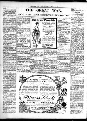 22 APRIL 1916