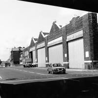 Bus Depot, Linacre Road Litherland, 1980s