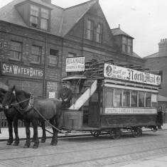 Pier Head and Tyne Dock Tram 1900
