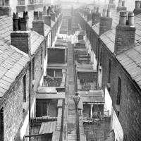 Back of Emley and Camden Streets, Bootle