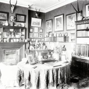 Westhill House, smoking room interior