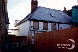 London Road, Mitcham:  Rear of White Hart Inn