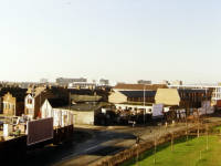Love Lane, Mitcham: gypsy yard