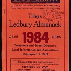 Tilley's Ledbury Almanack 1984