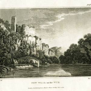 Wear on the Wye, Herefordshire, print, 1811