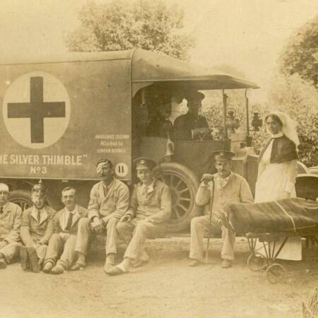 Silver Thimble Fund Ambulance