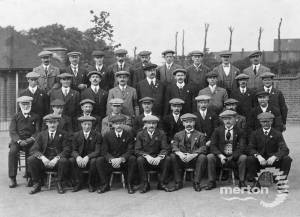 Special Constables recruited for First World War, Mitcham
