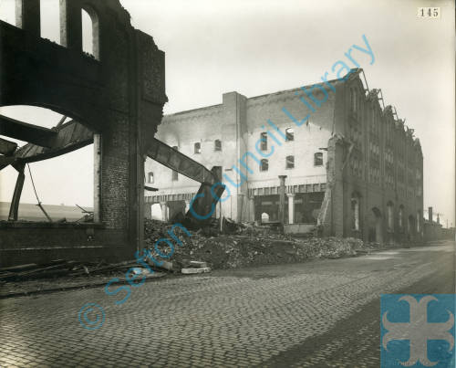 North Atlantic Laundry, bomb damage, Blitz