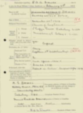 RMC Form 18A Personal Detail Sheets Feb & Sept 1933 Intake - page 38