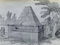 De Visme tomb, St. Mary's churchyard, Wimbledon