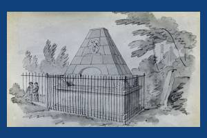 De Visne tomb, St. Mary's churchyard, Wimbledon