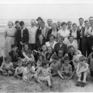 St Marks Church, Grenoside, Holiday to Marske Hall c1951
