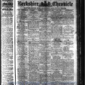 Berkshire Chronicle Reading 09-1920