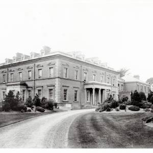 Staunton Park, Staunton-on-Arrow, c1900