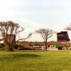 Demolition in Progress at Westoe Colliery