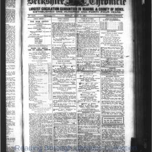 Berkshire Chronicle Reading 05-1915