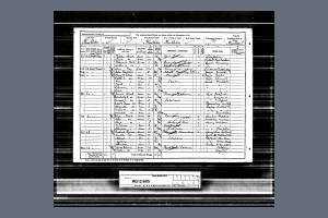 1891 Census - 66 Hartfield Crescent, Wimbledon
