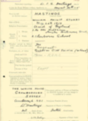 RMC Form 18A Personal Detail Sheets Aug 1935 Intake - page 98