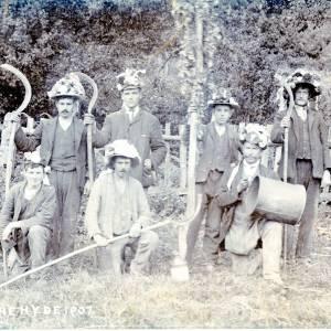 Hop Yard Workers, Woolhope, Herefordshire, 1907