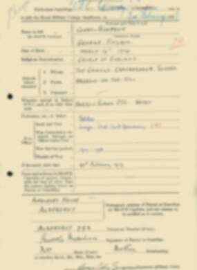 RMC Form 18A Personal Detail Sheets Feb & Sept 1933 Intake - page 32