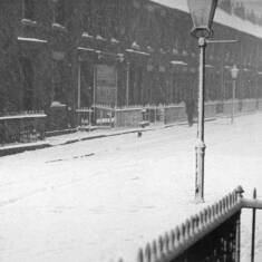 Winter In Saville Street, South Shields