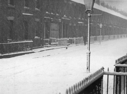 Winter In Saville Street, South Shields