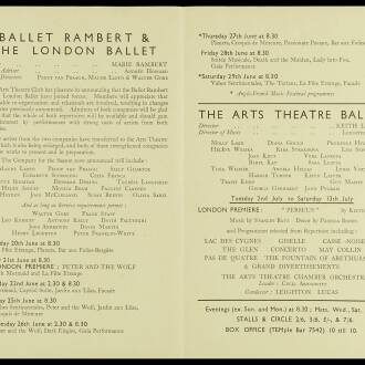 Arts Theatre Club, London, June–July 1940