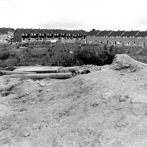 Worksite at Prospect Farm, Hereford, 1960s.